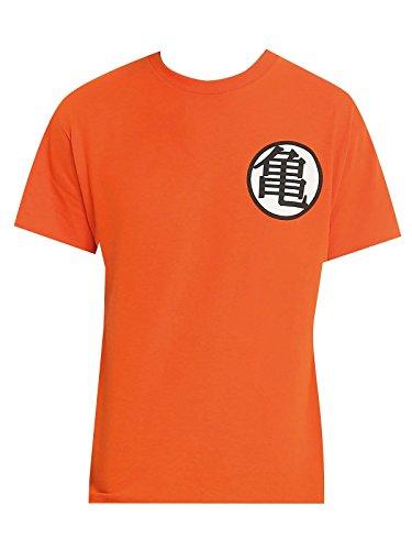 Dragon Ball Z Symbols Camiseta Naranja XXL – Vegeta y más 838349838a085