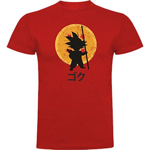 Camiseta Dragon Ball Son Goku Anime Vegeta Piccolo Akira Toriyama DAdb024 SIL